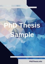 PhD Thesis Example