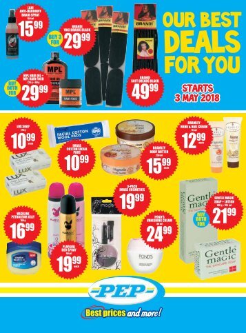 6340d WK31 PEP FMCG 2pp Stand Alone Leaflet _RSA