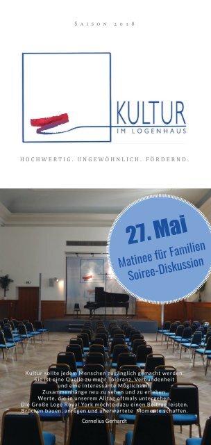 Logenhaus - Programm 27_05_18