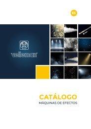 Velleman Sound & Light - Effect Machines - ES
