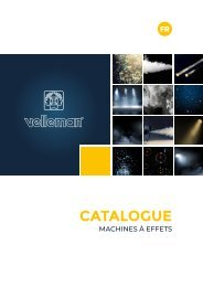 Velleman Sound & Light - Effect Machines - FR