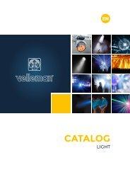 Velleman Sound & Light - Light - EN