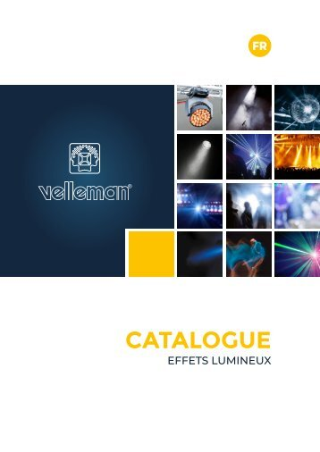 Velleman Sound & Light - Light - FR