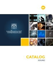 Velleman Sound & Light - Sound - EN