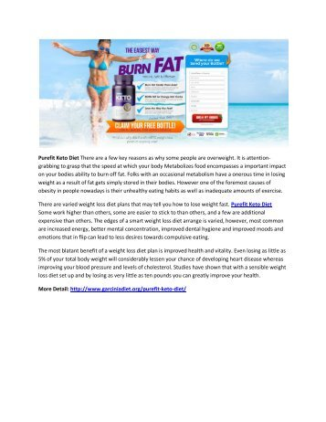 Purefit Keto Diet - Suppress Your Appetite & Boost Your Metabolism!