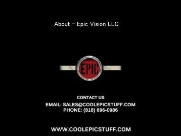About - Epic Vision LLC