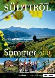 Südtirol Magazin Sommer 2018 - Die Welt