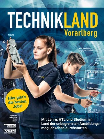 TECHNIKLAND Vorarlberg 04/2018