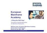 EMA (European Mainframe Academy) - thebrainhouse.ch