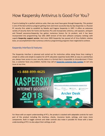 Kaspersky Customer Help service