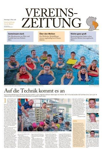 Vereinszeitung für die Mosel - Mai 2018