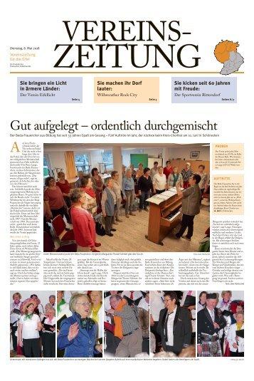 Vereinszeitung für die Eifel - Mai 2018