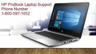 1-800-597-1052 HP ProBook Laptop Support Phone number