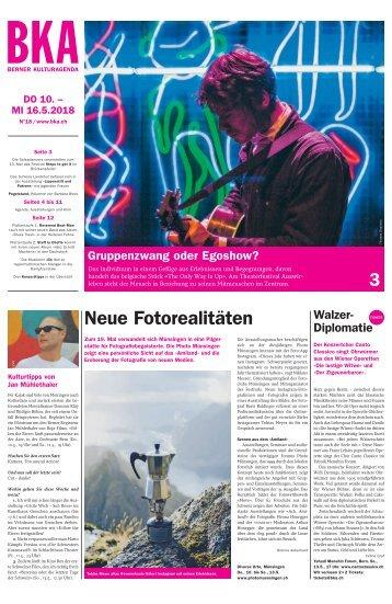 Berner Kulturagenda 2018 N°18
