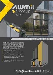 Alumil SD77 - Brochure (EN)