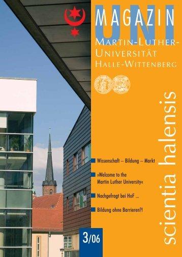 Zentrale Universitätsverwaltung - Martin-Luther-Universität Halle ...