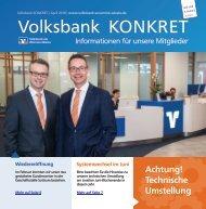 Volksbank KONKRET - April 2018