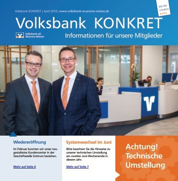 Volksbank KONKRET - April 2018