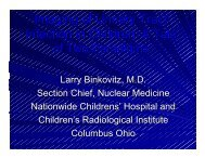 Imaging of UTI in Children - Society of Nuclear Medicine