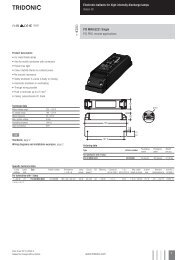 Electronic ballasts for high-intensity discharge lamps Indoor HI ...