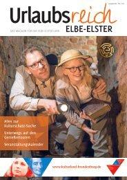 Urlaubsreich Elbe-Elster, Ausgabe Mai bis Oktober 2018
