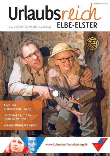 Urlaubsreich Elbe-Elster | Mai–Oktober 2018