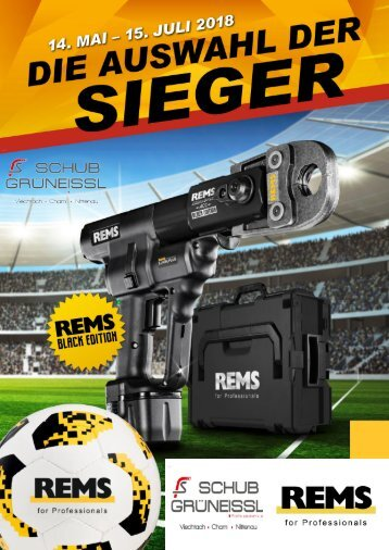 WM-Aktion Flyer REMS SCHUB
