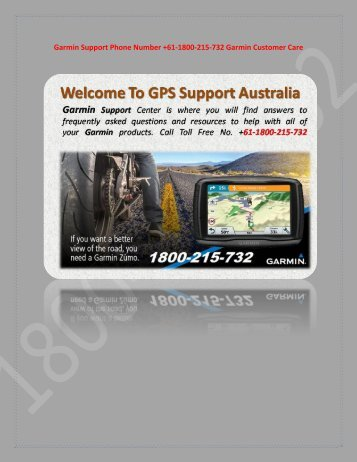How to garmin map updates free download 2018 Dial +61-1800-215-732