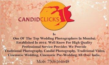 Candid Clicks Wedding Photographer
