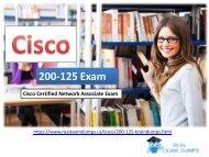 Cisco 200-125 PDF | 2018 Free Cisco Real Exam Dumps Download