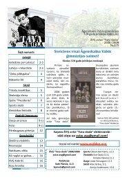 2008. 320 gadu skolas jubileja - Āgenskalna Valsts ģimnāzijas ...