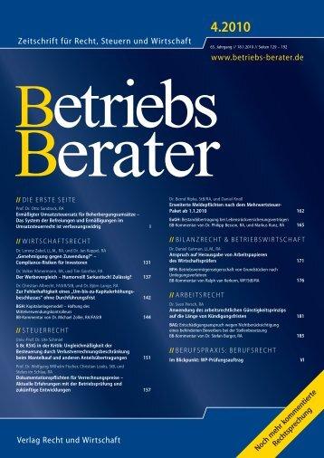 8c KStG in der Kritik - Lehrstuhl für Unternehmensbesteuerung