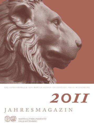 Web-Jahresmagazin2011-Deutsch - Alumni Halenses - Martin ...