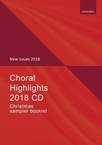 Oxford Choral Highlights: Christmas 2018