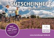 Gutscheinheft Lüneburger Heide 2018