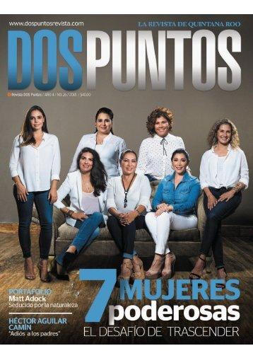 Mujeres poderosas en Quintana Roo