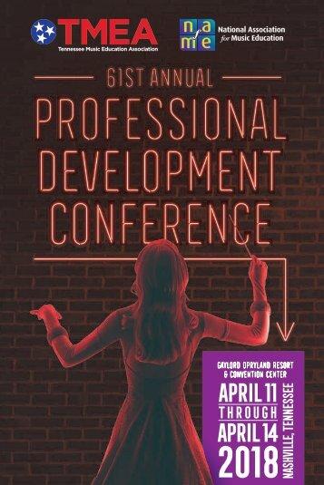 TMEA 2018 Professional Development Conference Program