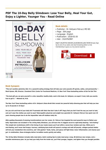 The-10-Day-Belly-Slimdown-Lose