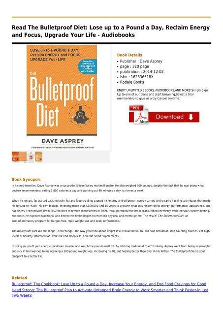 The-Bulletproof-Diet-Lose-up-to