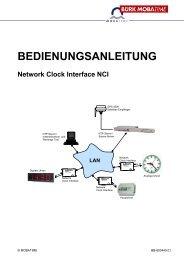 Network Clock Interface NCI - Bürk Mobatime GmbH