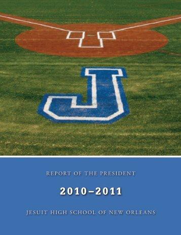 President's Report 2010-11 - Jesuit High School