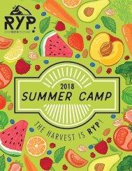 RYP Summer Brochure 2018
