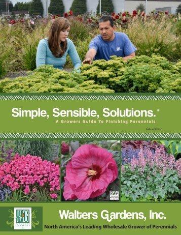 Simple Sensible Solutions