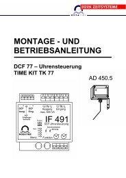 TIME KIT TK 77 - Bürk Mobatime GmbH