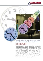 COLOURLINE - Bürk Mobatime GmbH