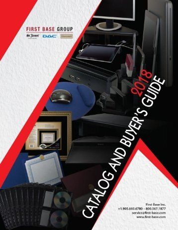 2018 First Base Catalog Web - GV Reduced