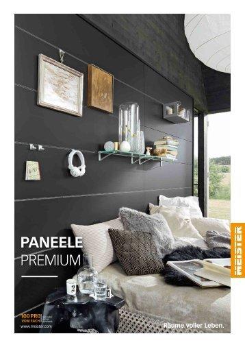 MEISTER Katalog Paneele Premium 2018