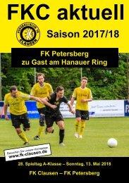 FKC Aktuell - 28. Spieltag - Saison 2017/2018