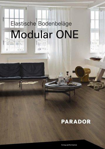 Parador Elastische Bodenbeläge Modular One 2018
