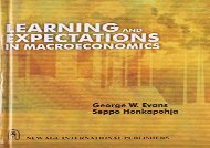 [PDF] Learning and Expectations in Macroeconomics Download by - George W. Evans